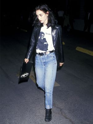 Proof Winona Ryder's '90s Style Is Still Genius in 2018