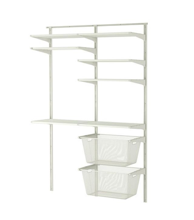 IKEA Algot Wall Upright Shelves Rack