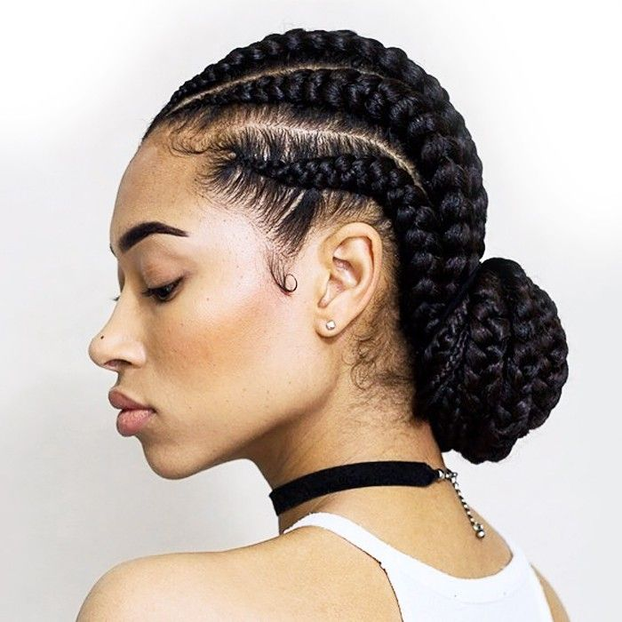 5 Bun Styles For Natural Hair That Are Perfect For Summer Byrdie