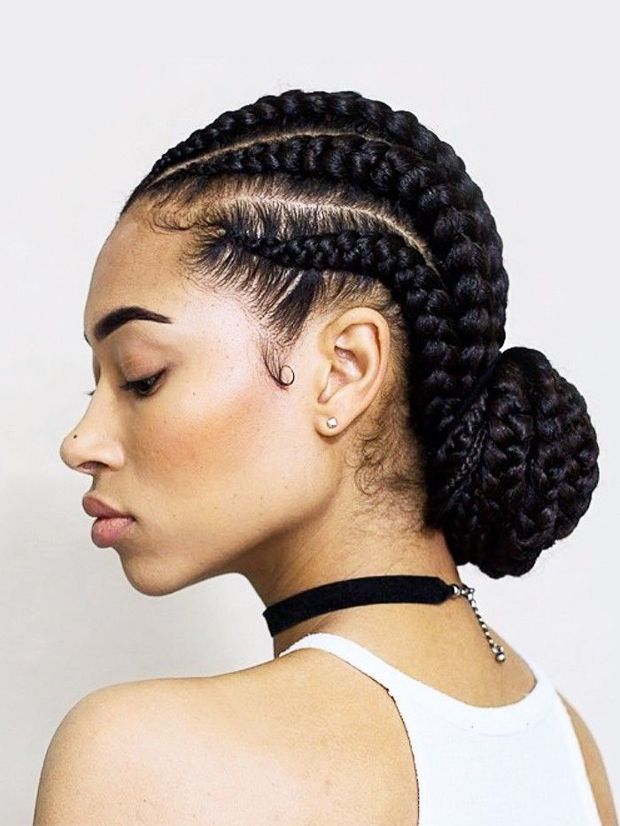 5 Bun Styles for Natural Hair That Are Perfect for Summer | Byrdie