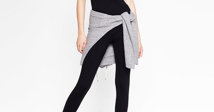 df0584c9 Zara's New Ballerina Leggings Are Very Fall 2016 | Who What Wear