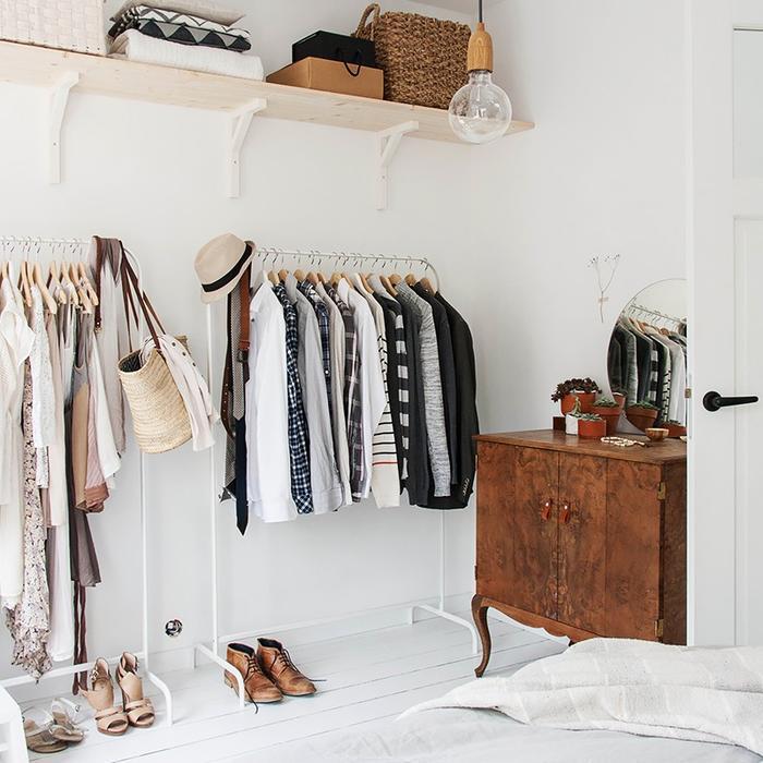& How to Organize a Tiny Bedroom | MyDomaine