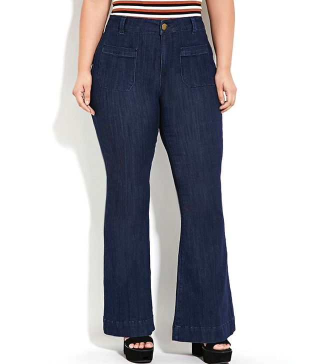 Forever 21 Plus Size Flared Jeans