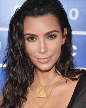How Kim Kardashian Crowdsourced Her VMAs Beauty Look