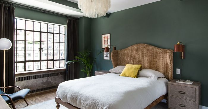 11 of the best bedroom paint color ideas every pro uses mydomaine. Black Bedroom Furniture Sets. Home Design Ideas