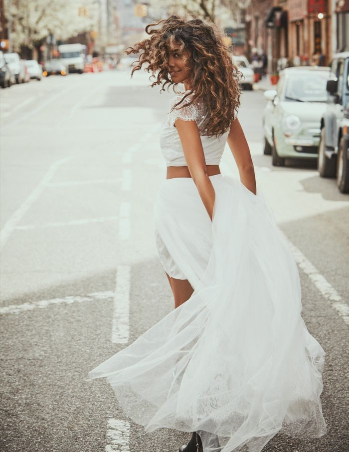 The Unexpected Way I Found My Wedding Dress | Who What Wear