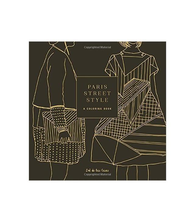 <i>Paris Street Style: A Coloring Book</i> by Zoe de las Cases