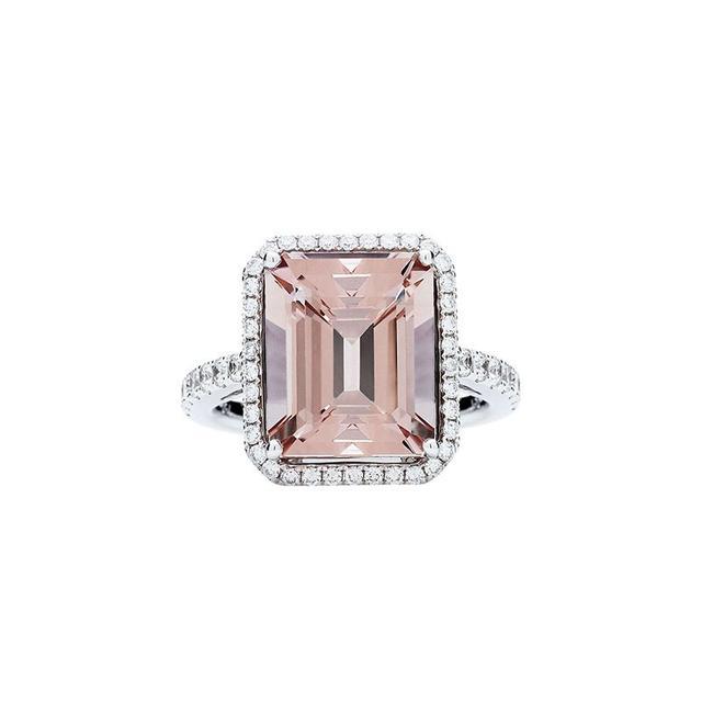Jan Logan 18ct Pink Morganite