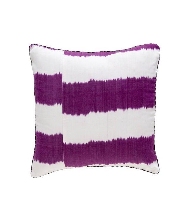 Madeline Weinrib Stripe Ikat Pillow