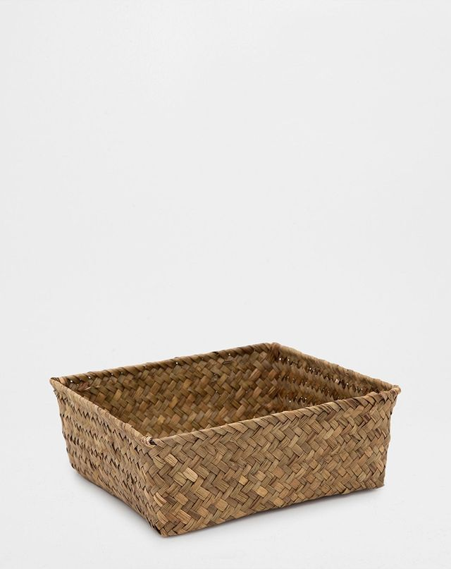 Zara Home Browin Plaited Basket