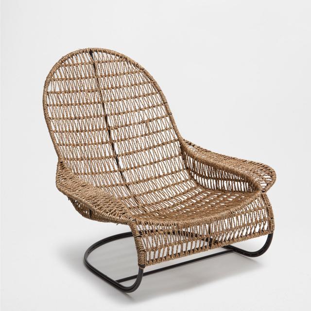 Zara Home Plaited Rocking Chair