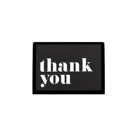 Thank You Card Set of 10