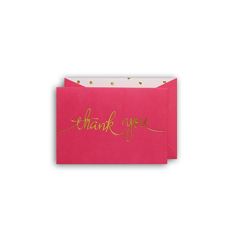 Thank You Cards Box of 10