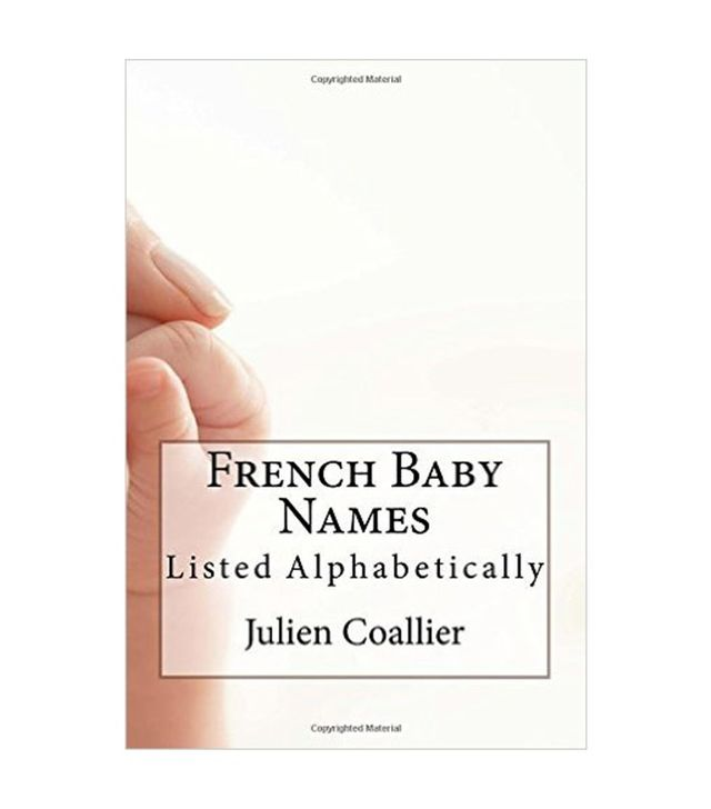 French Baby Names by Julien Coallier