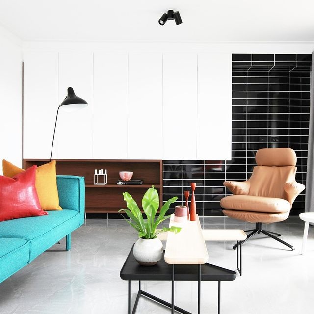 This Glebe Townhouse Proves Colour Can be Chic