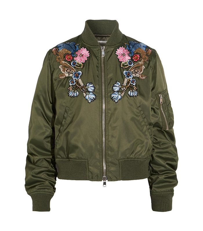 153f11b81 The Best Embroidered Floral Jackets for Fall | Who What Wear