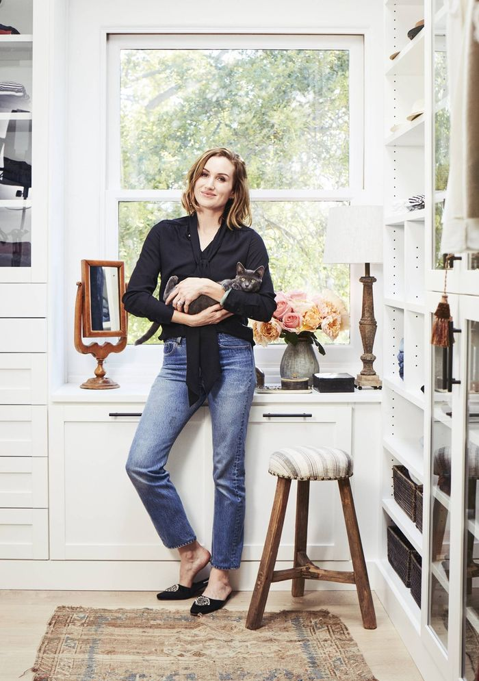 Inside Our CEO Katherine Power's Perfectly Organized Closet