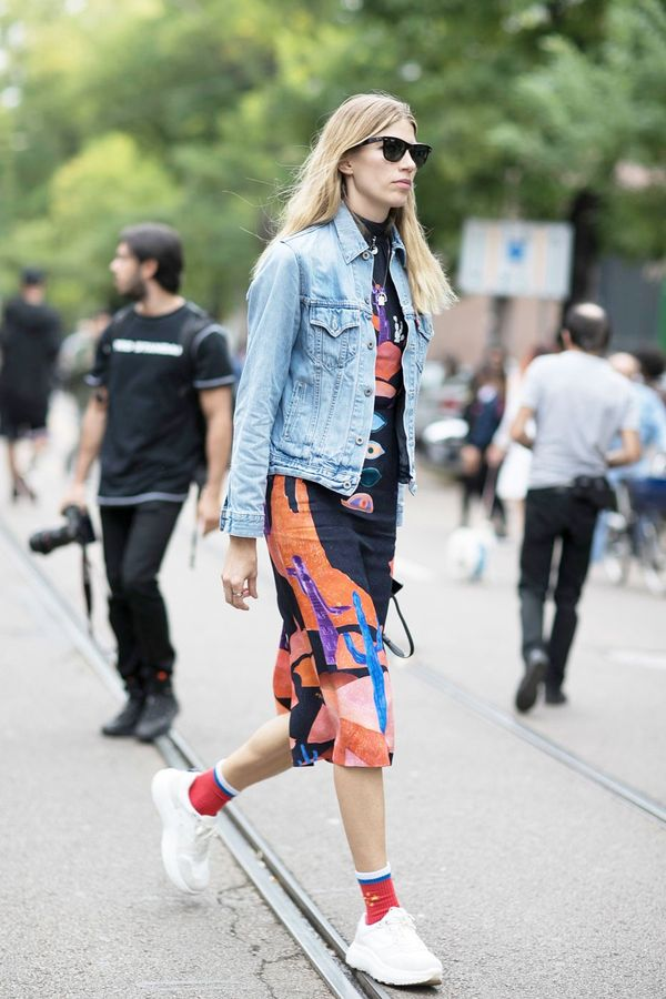 <p>A denim jacket will be your MVP to layer over <em>everything.</em></p>