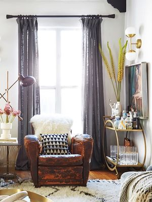 Inside an Editor's Eclectic Living Room Makeover