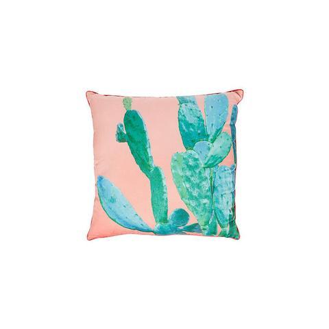 Cactus Print Outdoor Cushion - 60cm