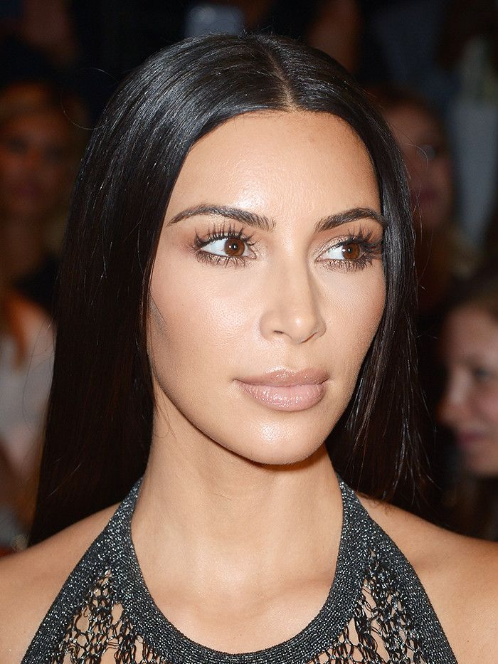 This Is What Kim Kardashian Looks Like Without Makeup Byrdie - Kim-k-without-makeup