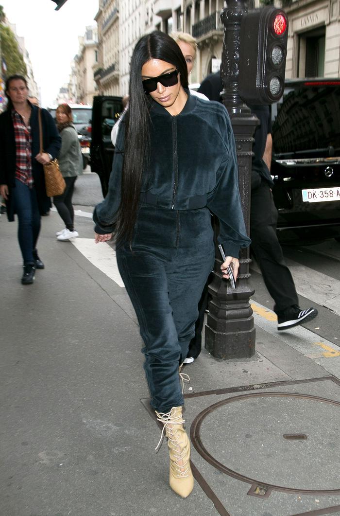 0c42911214 Every Outfit Kim Kardashian Wore to Paris Fashion Week