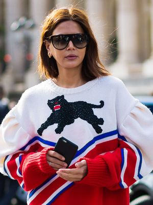 Every Outfit Christine Centenera Wore During Fashion Month Over the Years