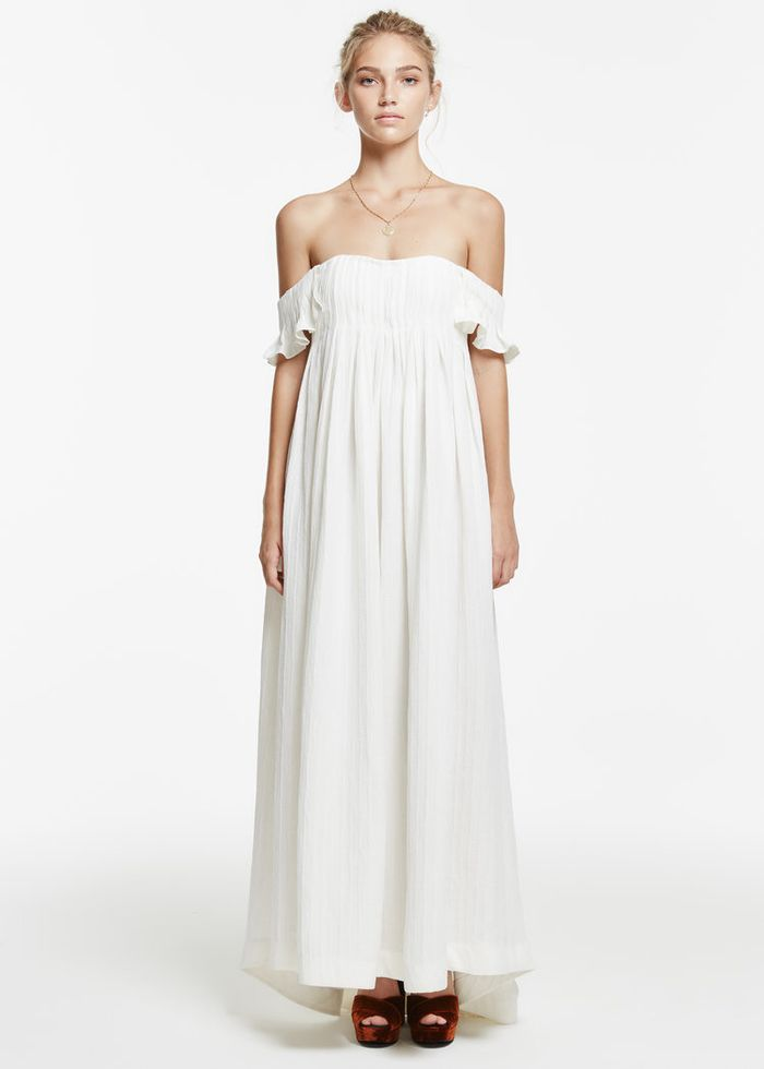 These Are the Prettiest New Wedding Dresses for Low-Key Brides | Who ...