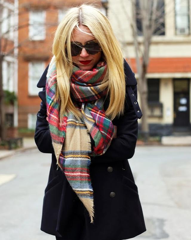 Iconic Zara pieces: Blanket Scarf
