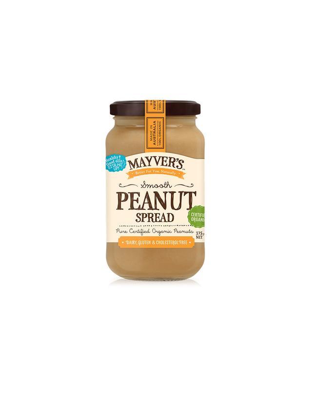 Mayver's Organic Smooth Peanut Spread
