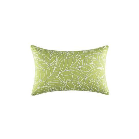 Fauna Rectangle Green Cushion