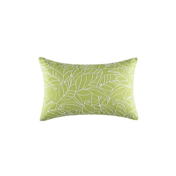 KAS Fauna Rectangle Green Cushion