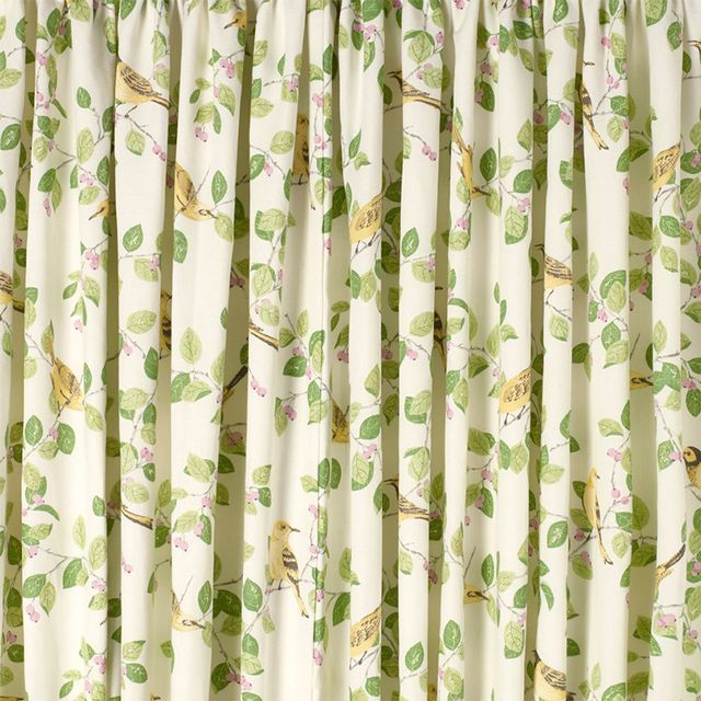 Laura Ashley Curtain Aviary Gar in Apple