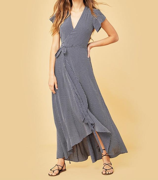 Christy Dawn The Autumn Dress in Navy Dot