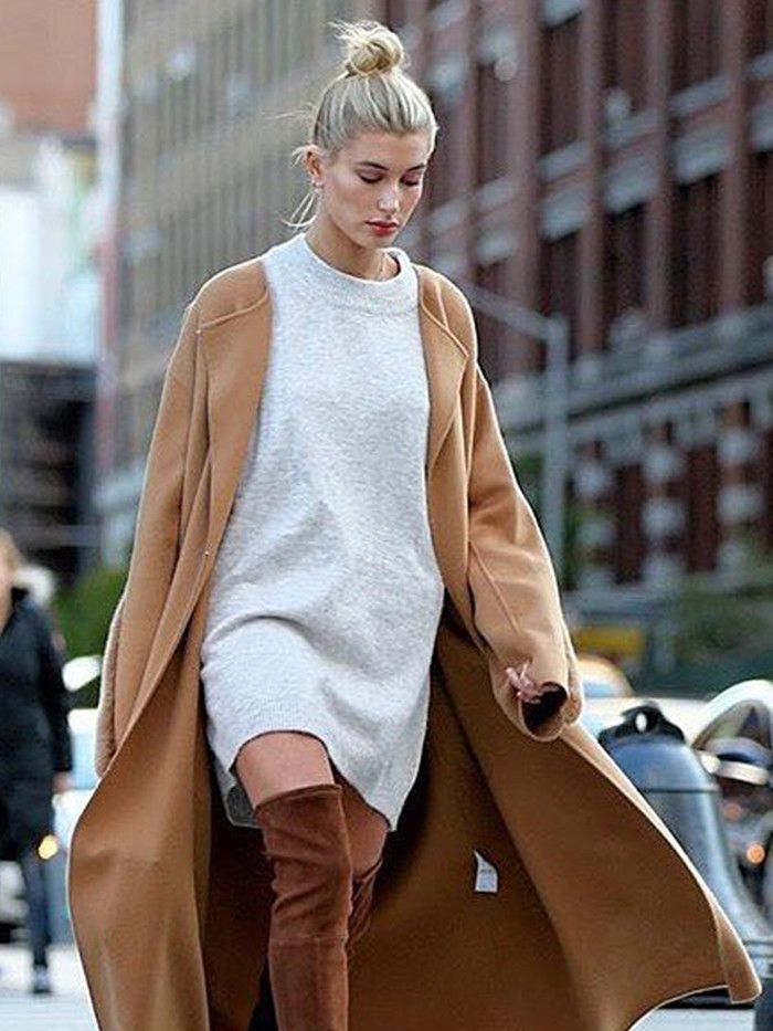 Ridiculously Good Outfits To Wear With Over The Knee Boots Who