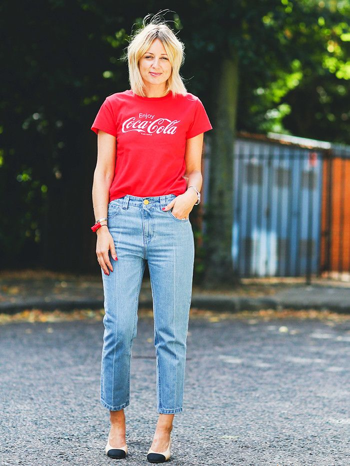 960b13fb4 How to Wear Graphic Tees When You're a Grown-Up | Who What Wear
