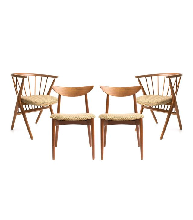 Henry Ostergaard Midcentury Dining Chairs