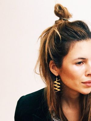 Maybe You Should Replace Your Ponytail With a Looped Low Bun