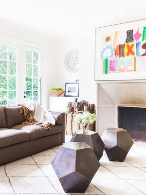 This Is How You Make Your Living Room Look Luxe