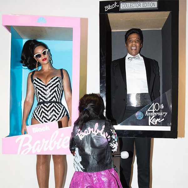 Beyoncé and Jay Z Dressed Up as Barbie and Ken—See the Pics