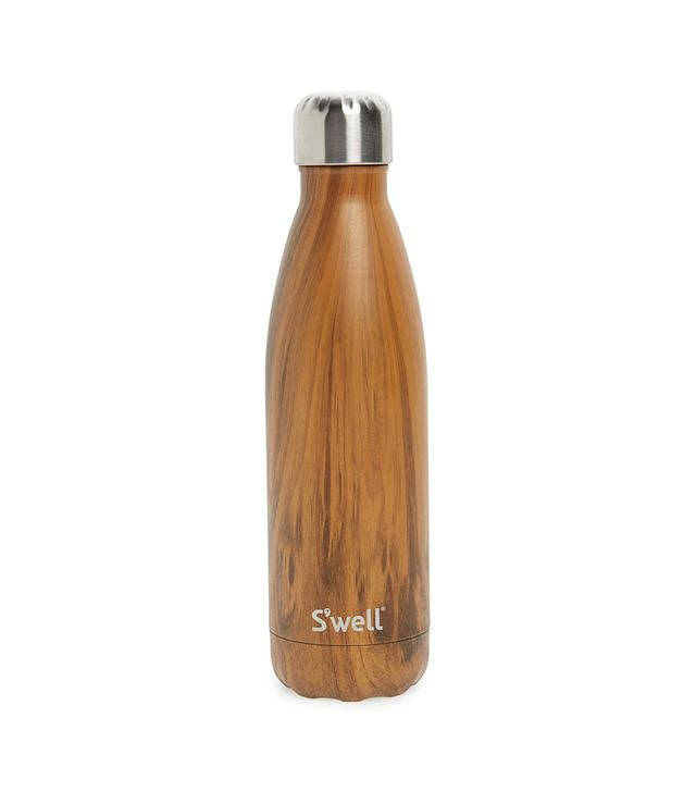 S'well Teakwood Insulated Stainless Steel Water Bottle