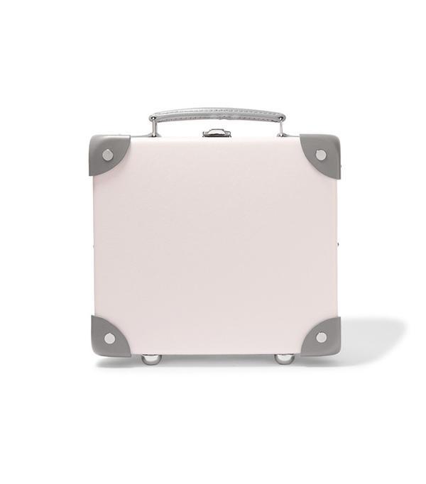 """Globe Trotter Emilia 9"""" Leather-Trimmed Fiberboard Vanity Case"""