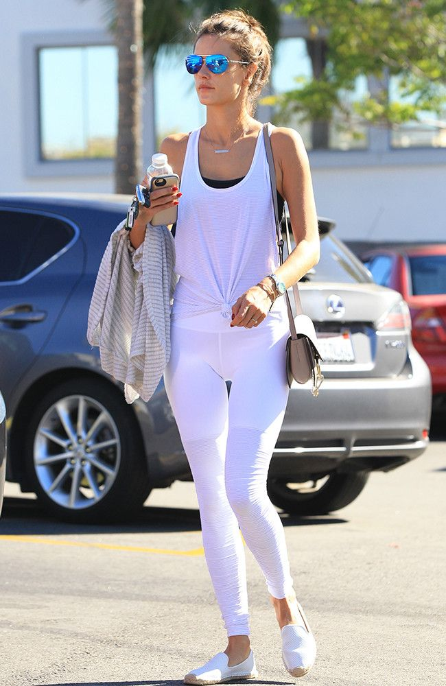 See Stylish Celebrity Legging Outfits Here | Who What Wear UK