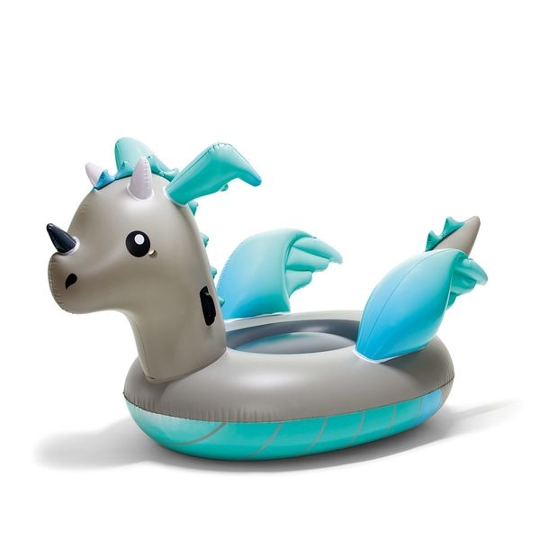 Kmart Inflatable Dragon - Grey