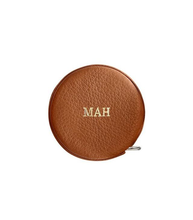 Mark and Graham Leather Tape Measure