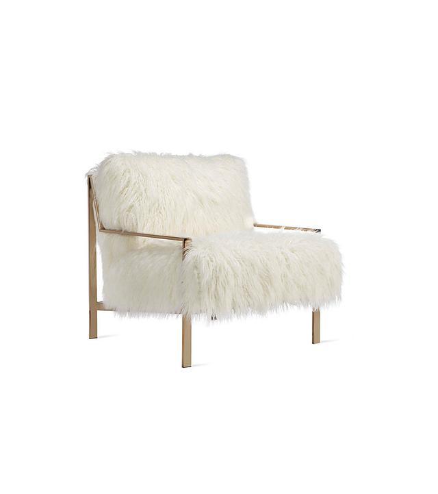 Z Gallerie Axel Fur Accent Chair