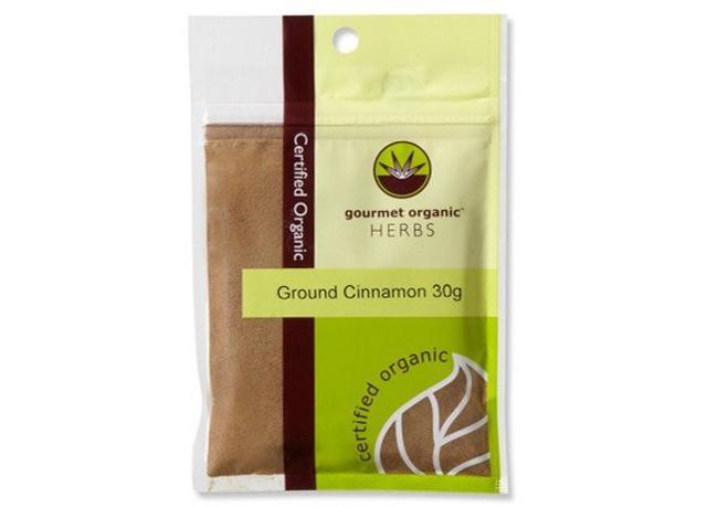 Gourmet Organic Ground Cinnamon
