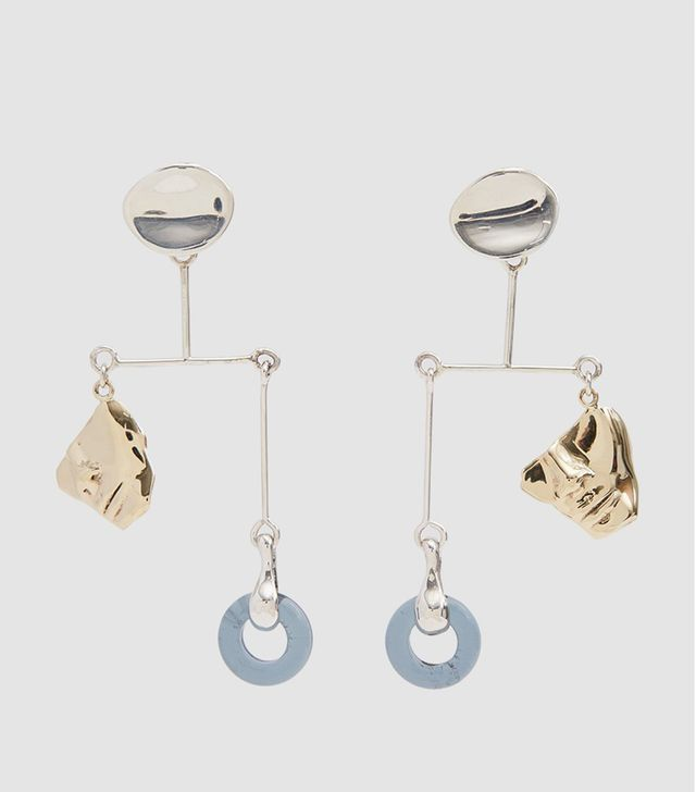 Portra Mobile Earrings in Silver