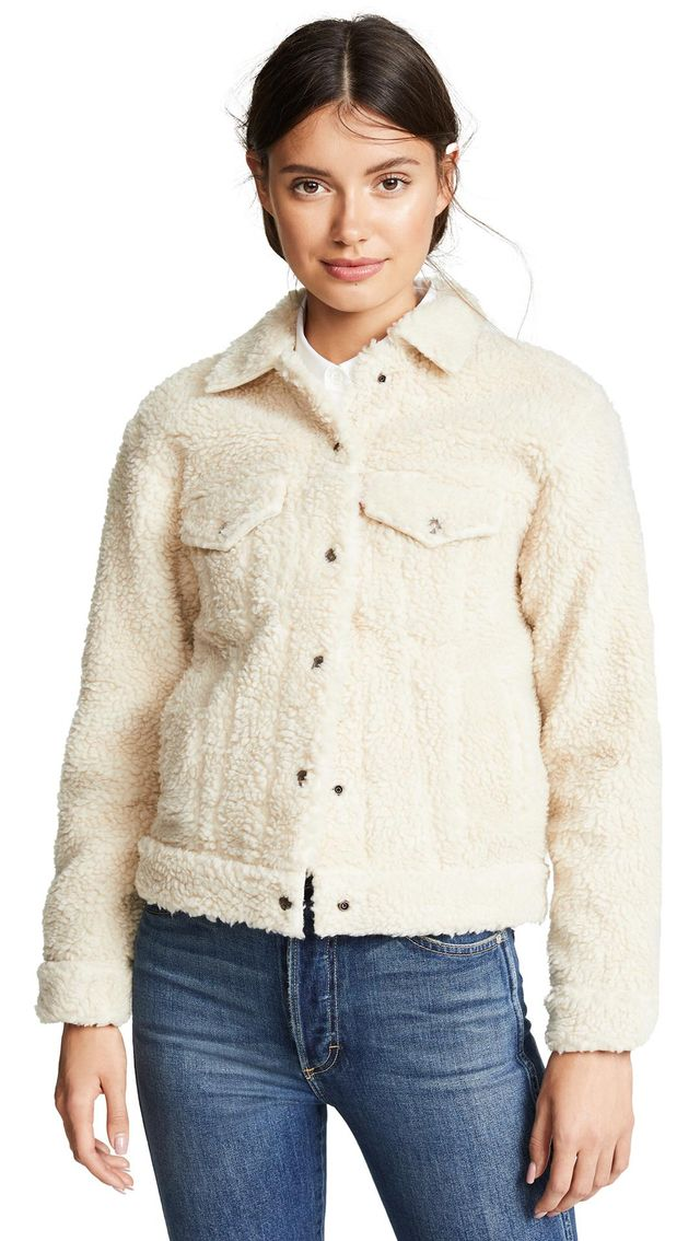 All Over Sherpa Jacket