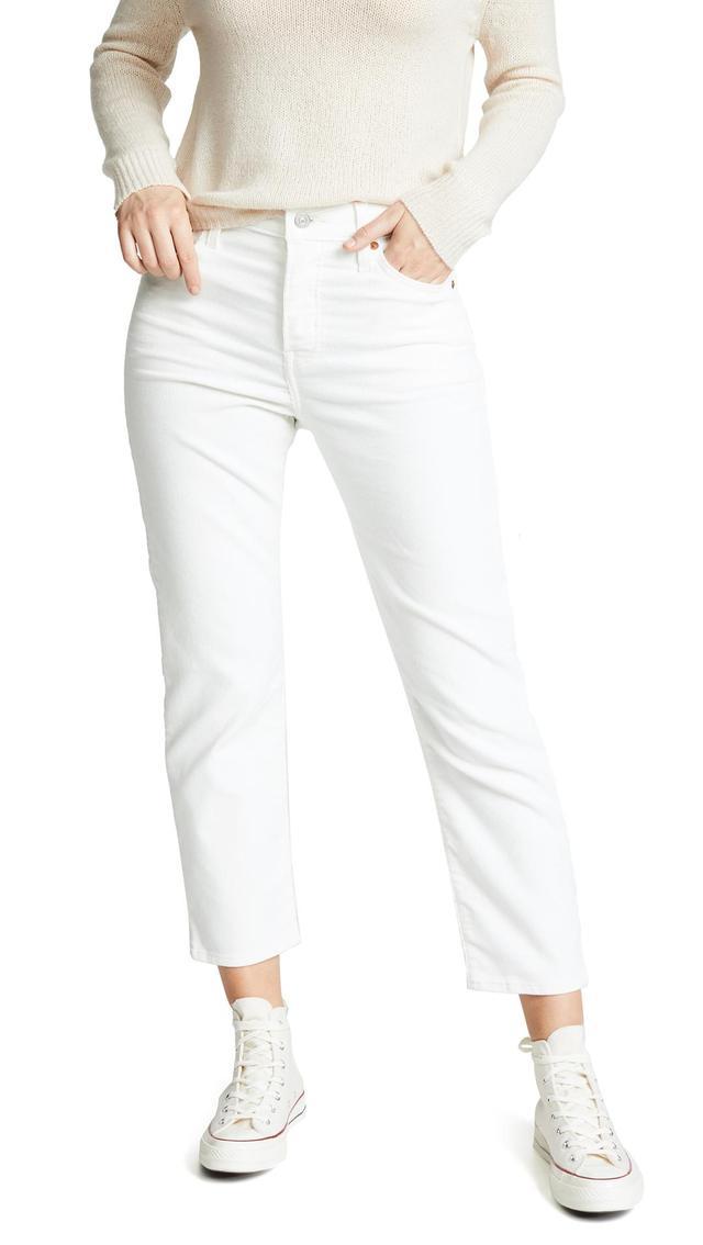 Wedgie Corduroy Straight Jeans